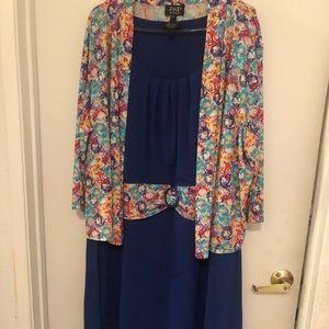 JSP woman dress 2 pc dress size 3x